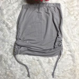 NWT Pretty Little Thing ruched skirt